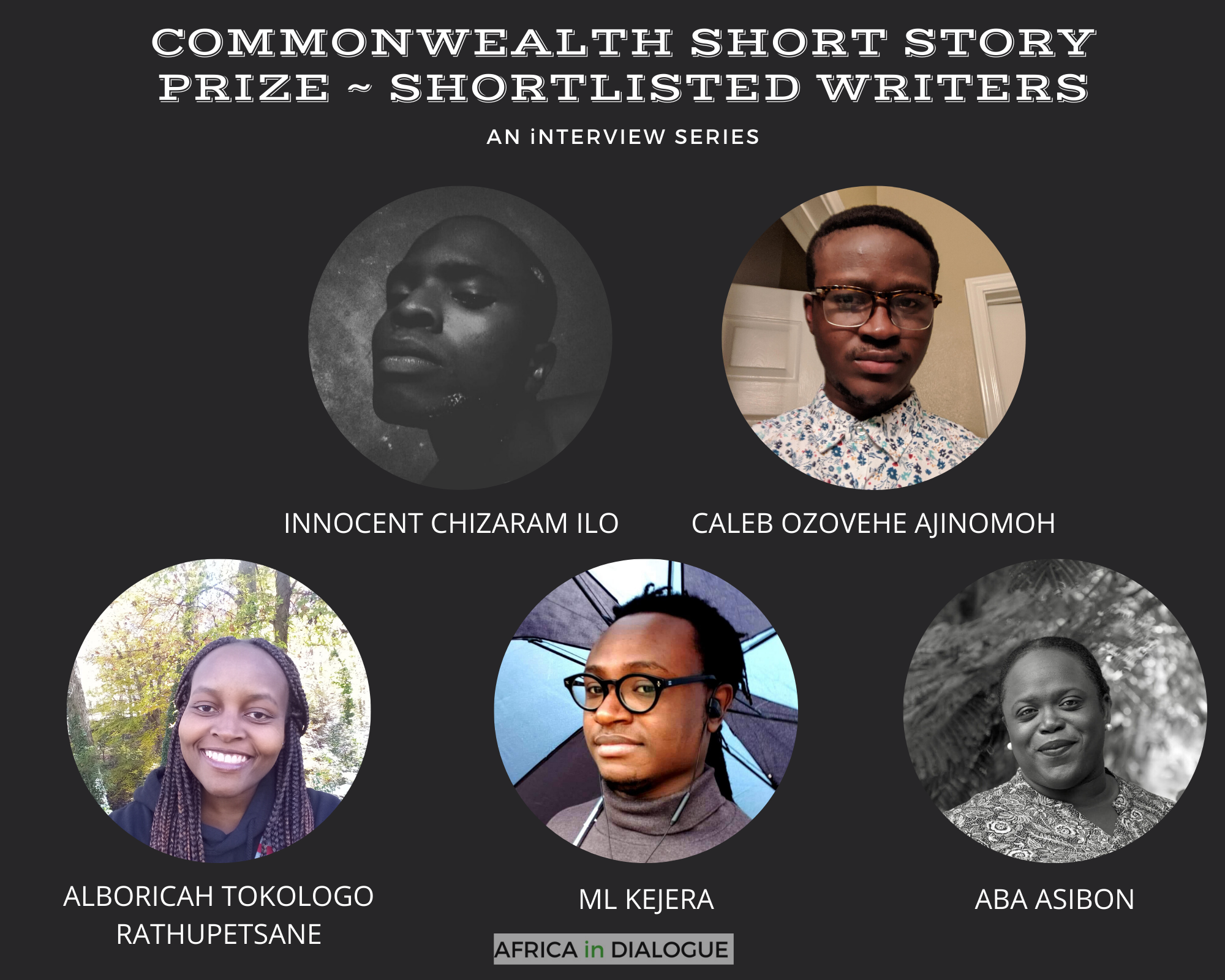 COMMONWEALTH SHORT STORY PRIZE _ 2020 SHORTLISTED WRITERS