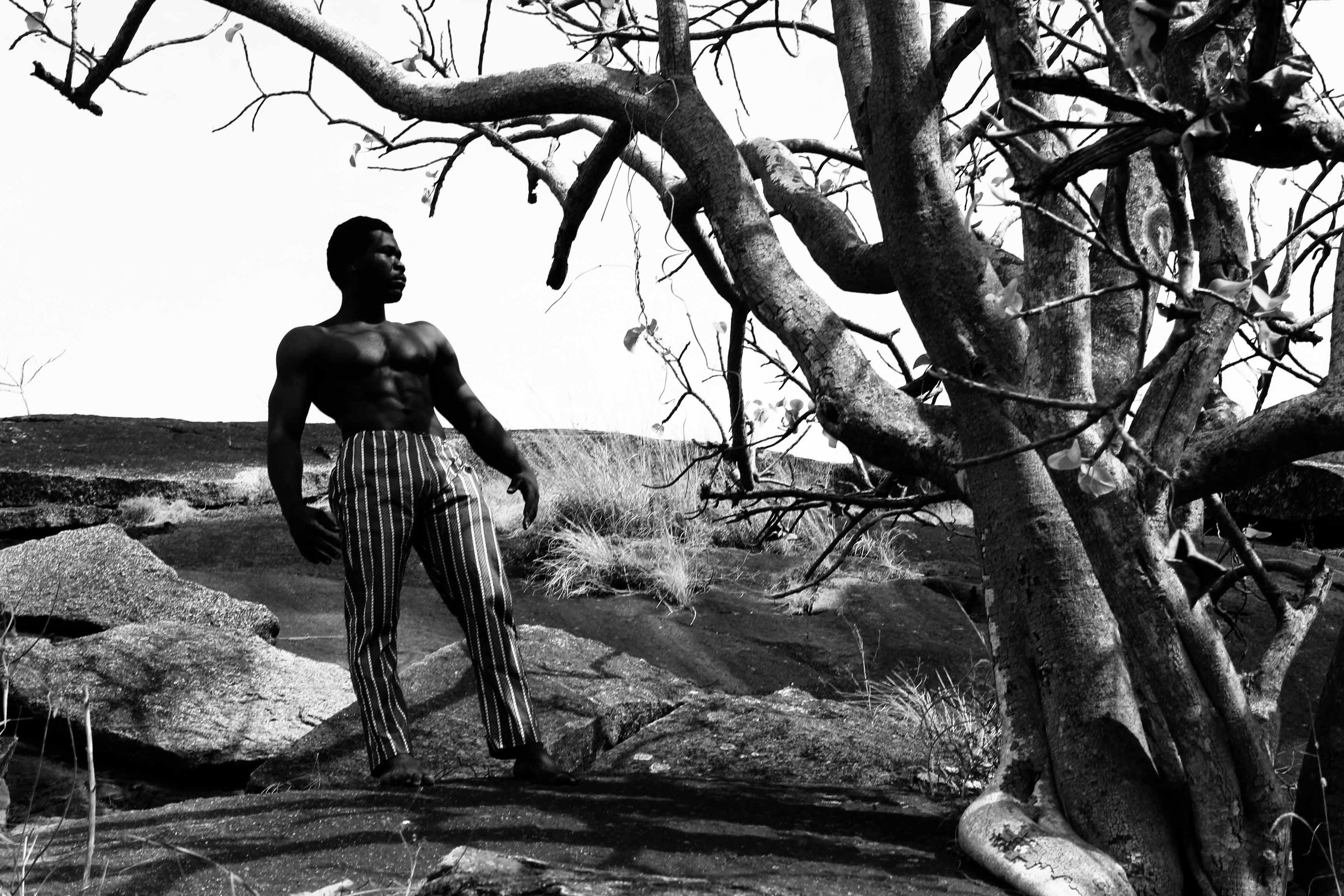 black-man-model-under-tree