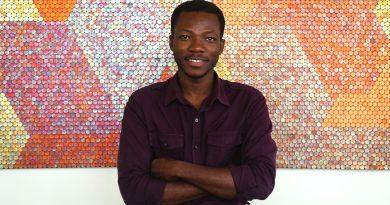 Yaw Owusu. Photo (c) Nii Odzema. Courtesy the Artist and Gallery 1957