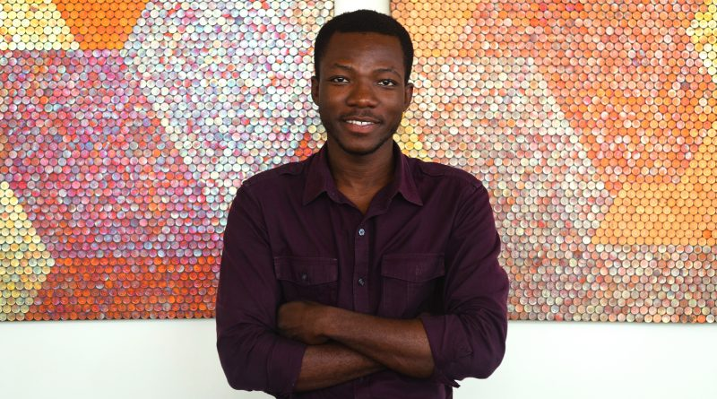 Yaw Owusu. Photo (c) Nii Odzema. Courtesy the Artist and Gallery 1957