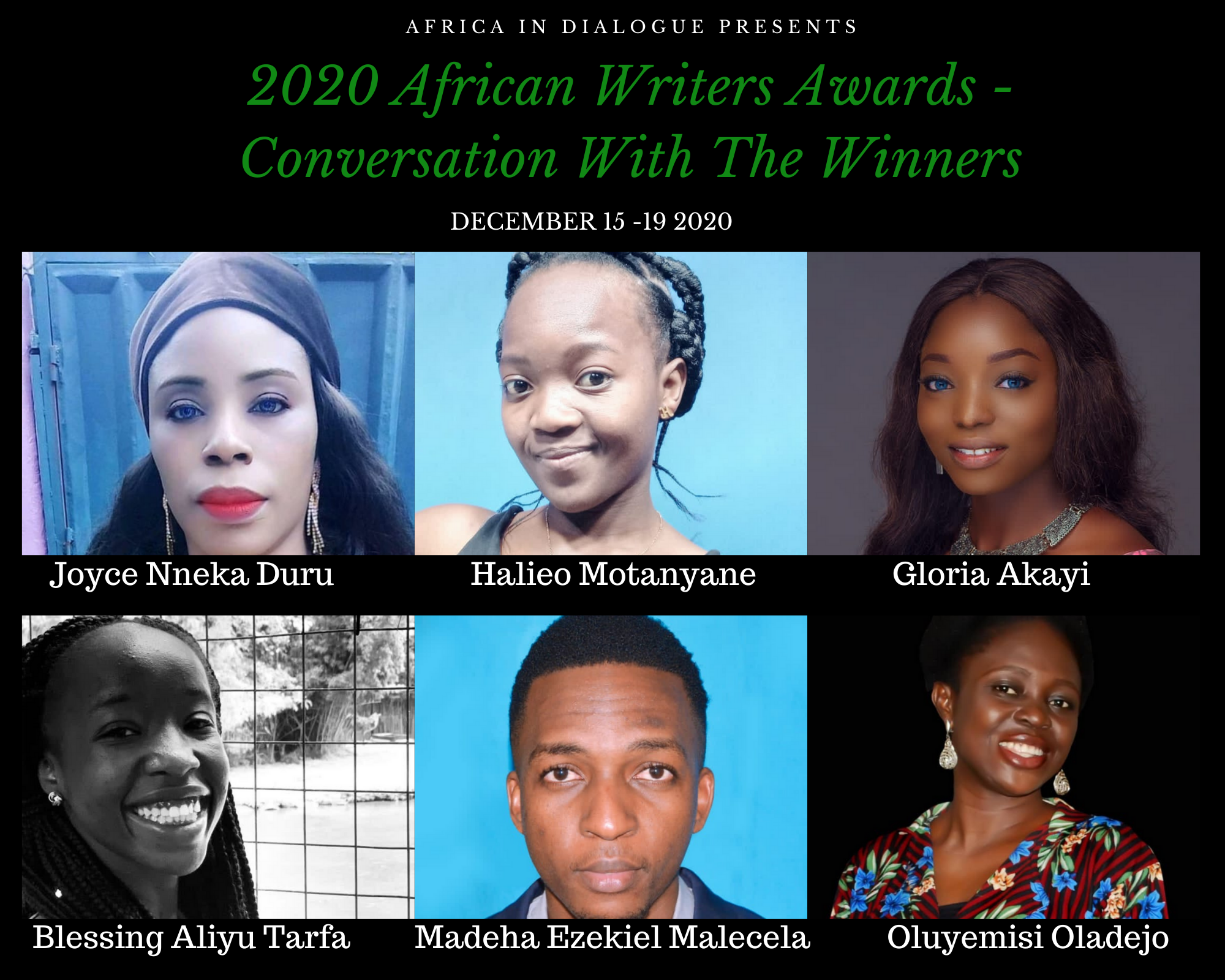 2020 African Writers Awards and the Wakini Kuria Award for Children's Literature