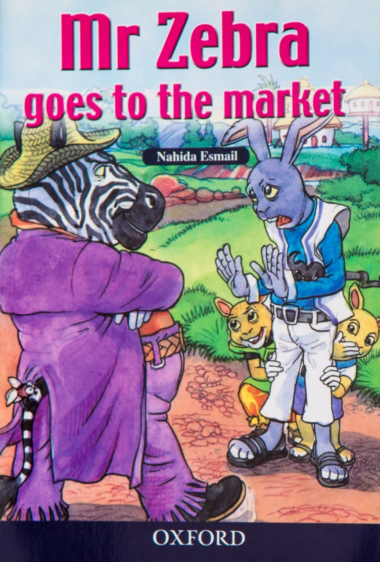 """Mr Zebra Goes to the Market"" by Nahida Esmail"