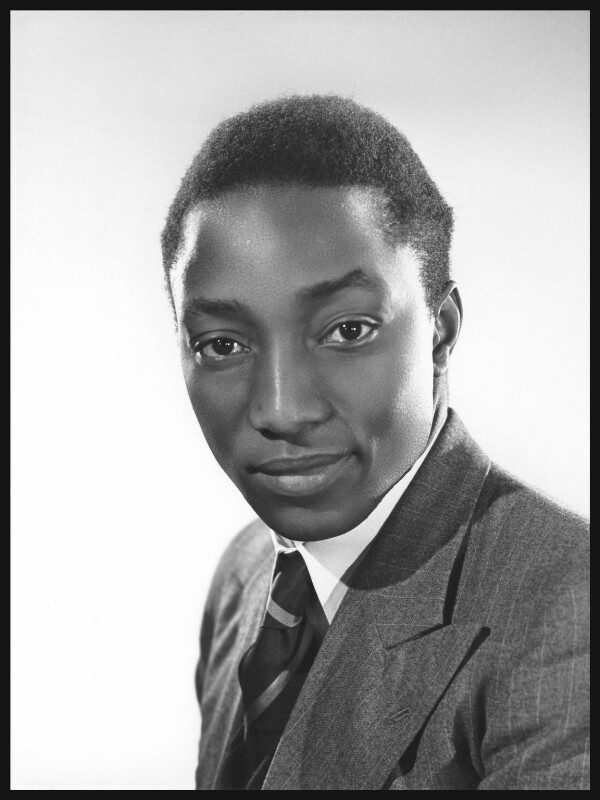 Sir Edward Frederick William David Walugembe Mutebi Luwangula Mutesa II, Kabaka of Buganda. Photograph by Bassano Ltd. Bromide print, 7 November 1945. NPG x125429. Courtesy of National Portrait Gallery, London, U.K.