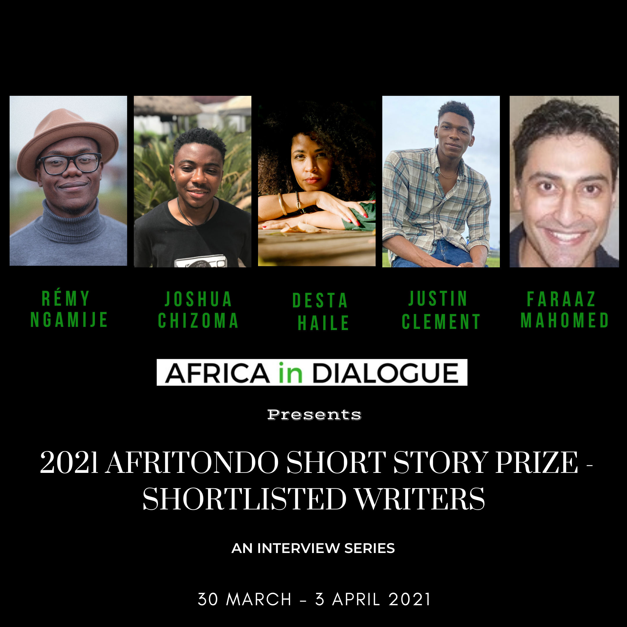 2021 Afritondo Short Story Prize: Conversations with the Shortlisted Writers and Winner