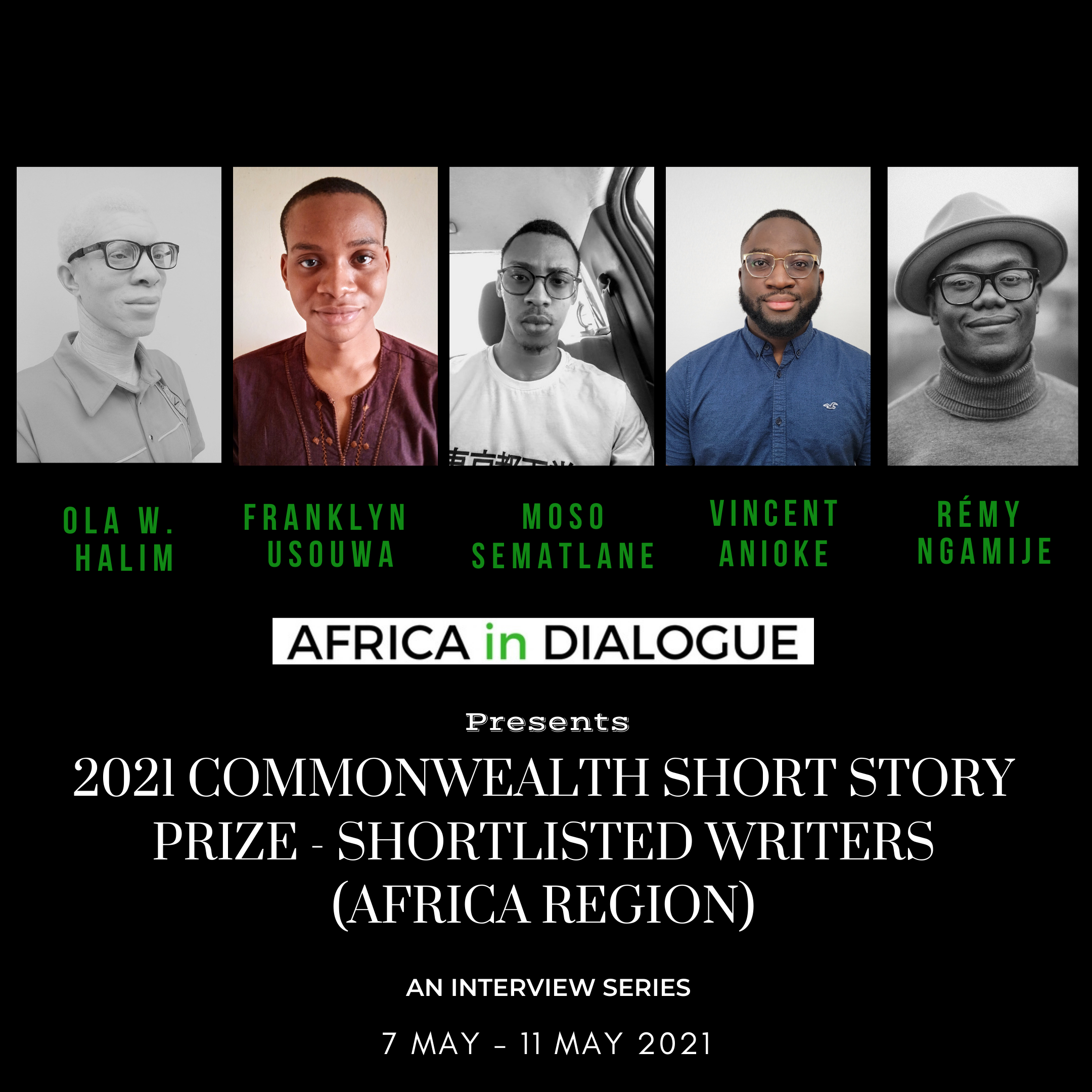 2021 Commonwealth Short Story Prize: Conversations with Shortlisted Writers