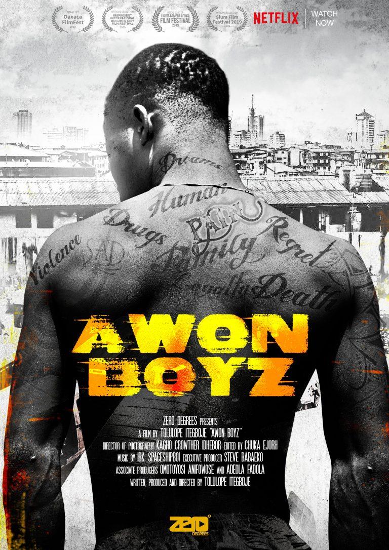 'Awon Boyz' Poster © X3M Ideas, Lagos, Nigeria